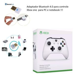 Adaptador Pc Usb Bluetooth 4.0 Controle Xbox One Original