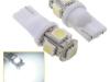 Lâmpada Pingo Xenon 5 Led 5050 Smd T10 W5w-super Branco