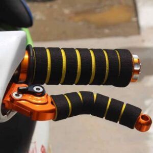 Kit Manete E Manopla Grip Capa Esportivo Punho Bike Ou Moto