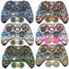 Adesivo Skin Camuflado Xbox One Controle Original + Par Grip
