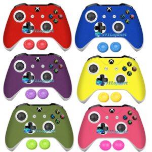 Adesivo Skin Case Capa Xbox One S Controle Original + Grips