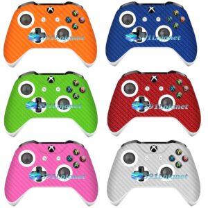 Adesivo Skin Case Carbono Xbox One S Controle Original