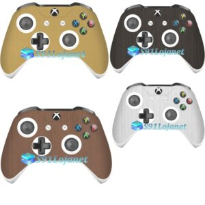 Adesivo Skin Case Metal Pele Xbox One S Controle Original