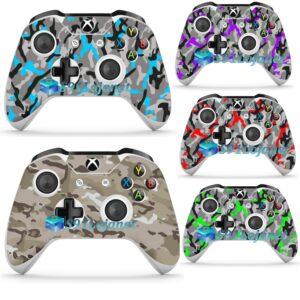 Adesivo Skin Decal Camuflado Controle Xbox One S Original