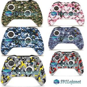 Adesivo Skin Pele Camuflado Xbox S Controle Original