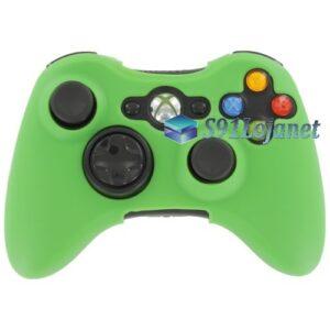 Capa Case Skin Xbox 360 Microsoft Silicone Cor Verde