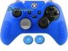 Capa Case Skin Xbox One Controle Elite Cor Azul + Grip Cor
