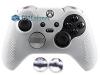 Capa Case Skin Xbox One Controle Elite Branco + Grip Camo