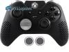 Capa Case Skin Xbox One Controle Elite Preto + Grip Bola