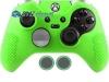 Capa Case Skin Xbox One Controle Elite Verde + Grip Bola