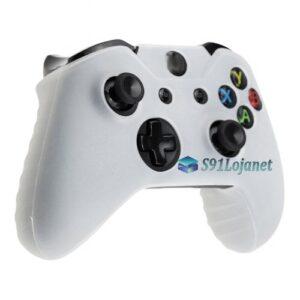 Capa Case Skin Xbox One S Microsoft Coloridas Branco