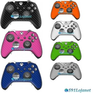 Xbox One Skin Adesivo Pele Carbon Controle Elite Original