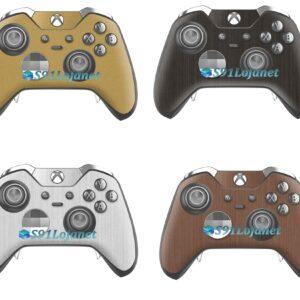 Xbox One Skin Adesivo Pele Metálico Controle Elite Original