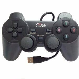 Controle Ps2 Com Fio Joystick Usb Playstation Pc Analógico