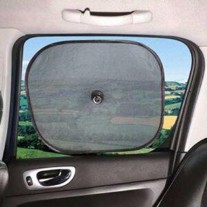 2 Tapa Sol Protetor Automotivo Carro Onibus Vidro Lateral