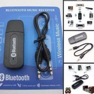 Adaptado Bluetooth Transmissor Receptor  P2 Usb Som Carro