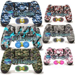 Adesivo Skin Capa Ps4 Camuflado Controle Playstation 4 +grip