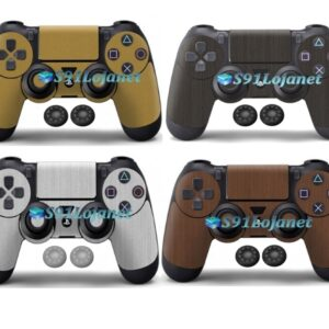 Adesivo Skin Case Capa Ps4 Metal Controle Playstation 4 Grip