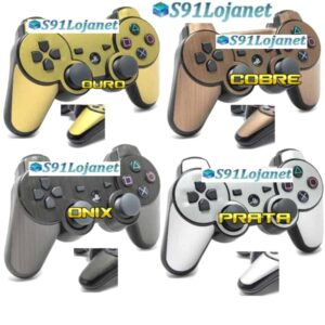 Adesivo Skin Decal Vinil Controle Ps3 Playstation 3 Metal
