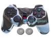 Capa Case Controle Playstation Ps2 Branco Marrom + Grip Color