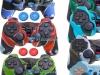 Capa Case Controle Playstation Ps2 Camo Cores + Grip Color
