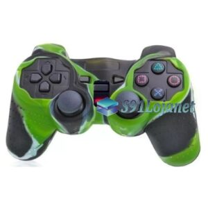 Capa Case Controle Playstation Ps2 Original Camuflado Verde