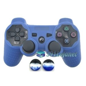 Capa Case Playstation PS3 Azul + Grip Camo