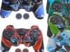 Capa Case Playstation PS3 Camuflado Várias Cores + Grip Bola
