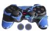 Capa Case Playstation Ps2 Camuflado Azul + Grip Bolinha