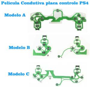 Película Manta Condutiva Placa Ps4 Pro Slim 3 Modelo Jds -C