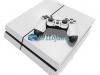 Skin Ps4 Fat Playstation 4 Original Brilho Branco