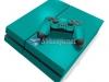 Skin Ps4 Fat Playstation 4 Original Brilho Verde Esmeralda