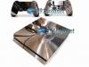 Skin Ps4 Fat Playstation 4 Original Metalico Cromado