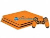 Skin Ps4 Pro Playstation 4 Origina Brlho Gloss Laranja