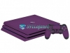Skin Ps4 Pro Playstation 4 Origina Brlho Gloss Roxo
