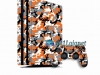 Skin Ps4 Pro Playstation 4 Original Camuflado Laranja
