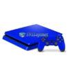 Skin Ps4 Slim Playstation 4 Slim Original Brilho Azul