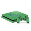 Skin Ps4 Slim Playstation 4 Slim Original Brilho Verde