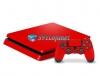 Skin Ps4 Slim Playstation 4 Slim Original Brilho Vermelho