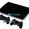 Skin Ps3 Super Slim Playstation 3 Brilho Preto