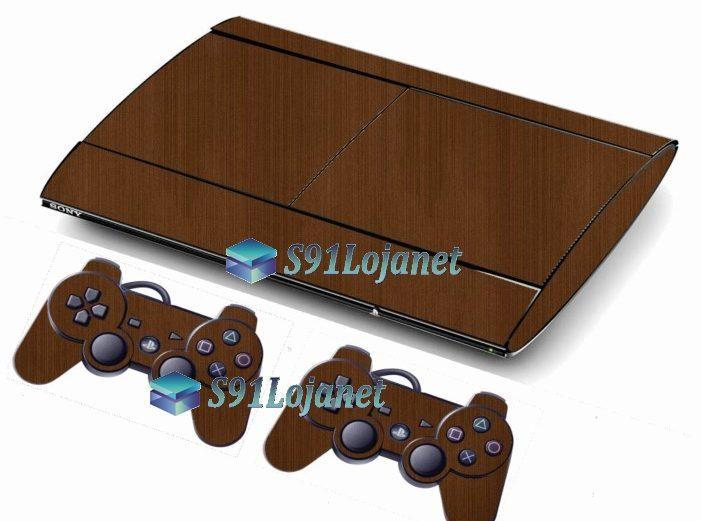 Skin Ps3 Super Slim Playstation 3  Metal Onix