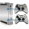 Xbox 360 Fat Skin Adesivo Metálico Alumínio
