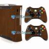 Xbox 360 Fat Skin Adesivo Metálico Onix