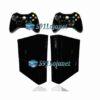 Xbox 360 Super Slim Skin Adesivo Brilho Preto