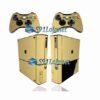 Xbox 360 Super Slim Skin Metálico Dourado