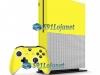 Xbox One S Slim Skin Adesivo Vinil Brilho Amarelo