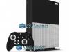 Xbox One S Slim Skin Adesivo Vinil Brilho Preto
