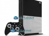 Xbox One S Slim Skin Adesivo Vinil Carbono Preto