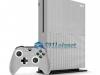 Xbox One S Slim Skin Adesivo Vinil Metálico Prata