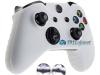 Capa Case Skin Xbox One X Microsoft Branco + Grip Camo